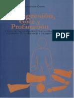 Castro, María (2005). Transgresión, Goce y Profanación. Ed. UNAL