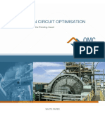 COMMINUTION CIRCUIT OPTIMISATION-Maximising Cash Flow for the Existing Asset-- OMC Company