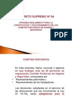 D S 54 Comites Paritarios