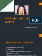 Del Oido Externo JUDITH