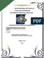 2° temaProbelmatica de la Educacion Universitaria en el Peru