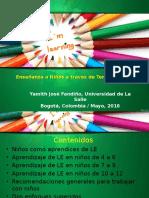 Temas y Proyectos Para Enseñar Inglés a Niños