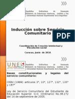 Presentación Servicio Comunitario
