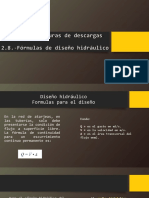 2.7 Estructuras de Descarga