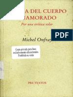 Michel Onfray - Teoria Del Cuerpo Enamorado Por Una Erotica Solar