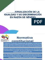 TRANSVERSALIZACION ENFOQUE DE GENERO.ppt