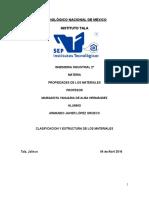 Clasificaacion de Los Materiales Portafolio