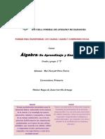Historia y Orgen Del Álgebra