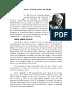 Mensaje y Tesis de Rudolf Bultmann