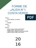 INFORME DE SALIDA N°1