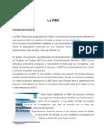 La WBS - Programación de Obras