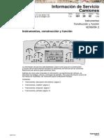 Manual Instrumentos Construccion Funcion Camiones Fm Fh Volvo