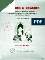 D&D Original 1977