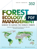 Forest Ecology and Management 2015