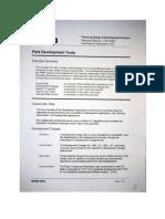 Development Applications Unit (DAU) - Park Development Tools