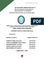 Fiscalizacion y verificacion de obligacion tributaria
