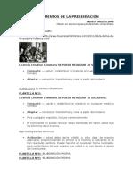 Argumentos Presentación tema 16