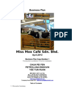 Business Plan-Miss Moo Café