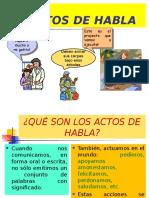 ACTOS DE HABLA HECHO Y OPINIÓN.ppt