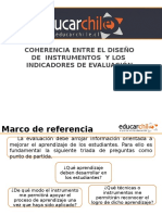 Alineación de Instrumentos a Indicadores de Evaluación