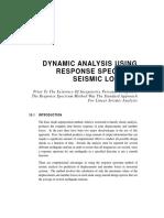 Dynamic Analysis Using Response Spectrum Seismic Loading