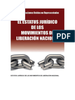 Juridicos de Los Movimientos de Liberacion Nacional Dossier