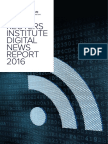 Digital News Report 2016