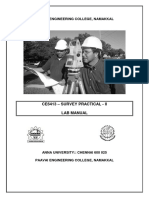 CE6413 Survey Practical II Lab Manual