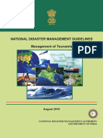 Ndma Guidelines- Management of Tsunamis