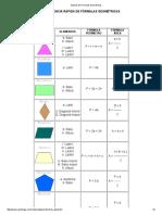 Manual de Fórmulas Geométricas