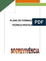 PLANO DE FORMAÇÃO SOBREVIVÊNCIA