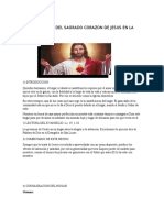 Entronizacion Del Sagrado Corazon de Jesus en La Familia