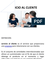 Presentacion Servicio Al Cliente Material de Estudio