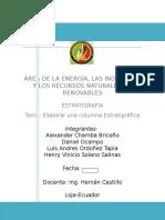 Informe Final Estratigrafia