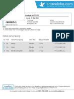 Tiket Sriwijaya 30 Mei 2014