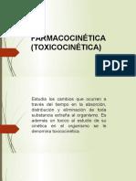 Diapositivas de Farmacocinética (Toxicocinética)