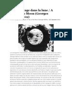 1. Le Voyage Dans La Lune - A Trip to the Moon (Georges Méliès, 1902)