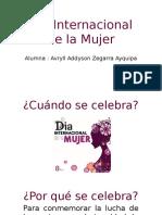 Día Internacional de La Mujer Ppt Avryll