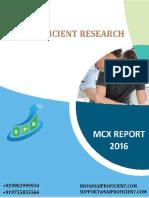 Mcx Commodity Report-sai Proficient