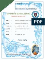 Proyectos Hidrologicos Peru