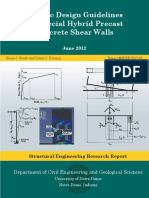 Hybrid Walls Final Design Procedure Document