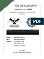 Informe Mercado de Capitales Fin