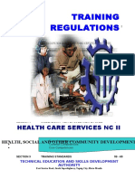 TESDA Health Care Services NC II
