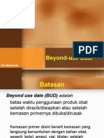 05. Beyond Use Date
