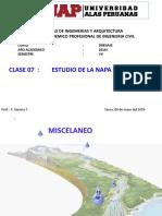 08052016 Clase 7 Drenaje Estudio de La Nf