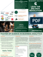 Business Analytics Brochure 2015