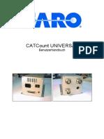 CATCount UNIVERSAL Benutzerhandbuch