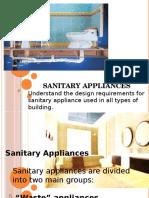 Chapter 3 Sanitaryappliances