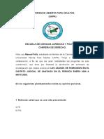 Cuestionario Para La Operalizacion de La Variales Manuel Feliz