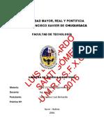 LUIS BERNARDO SANTI GÓMEZ - UMRPSFXCH - Práctica Nº 2 Mineralogía Resúmen Ficha Técnica Estaño